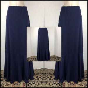 NWT ECI FULL LENGTH SKIRT